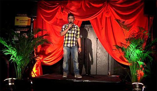 Comedy op uw feest. Boek bij ons een cabaretier.